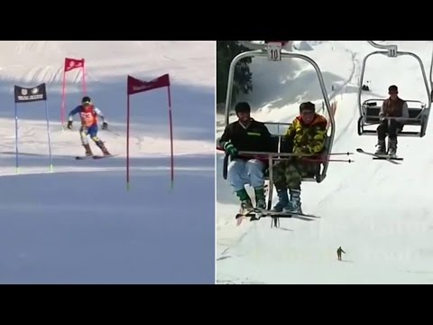 Skiing revives tourism in Swat Valley previously hit by Talibans