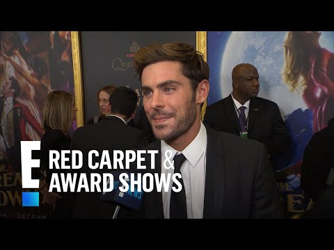 """Zac Efron Talks Filming """"The Greatest Showman""""   E! Red Carpet & Award Shows"""