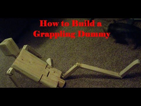 How to build a Grappling Dummy with realistic working parts