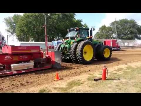 4WD Farm Tractor Pull at the Dodge County Fair