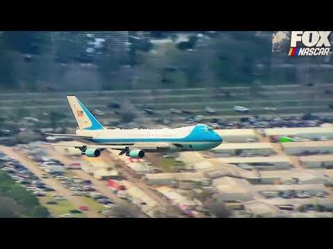 President Trump Air Force One Flyover Daytona 500 (Fox)