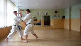 Okinawa Goju Ryu Karate Do Jundokan : Gekisai Renzoku Bunkai Part One Drill