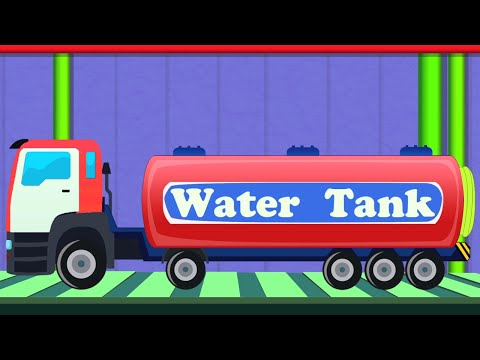 Water Tank | Toy Factory Video | Game for Kids & Children