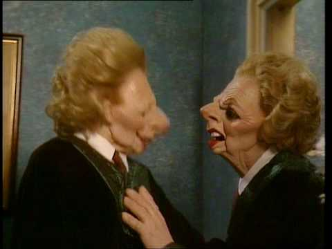 Spitting  Series 8 DVD out now  Margaret Thatcher