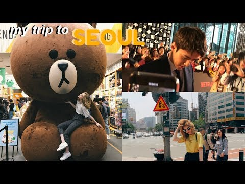 MY TRIP TO SEOUL, SOUTH KOREA // ( SAW EXOS SEHUN)