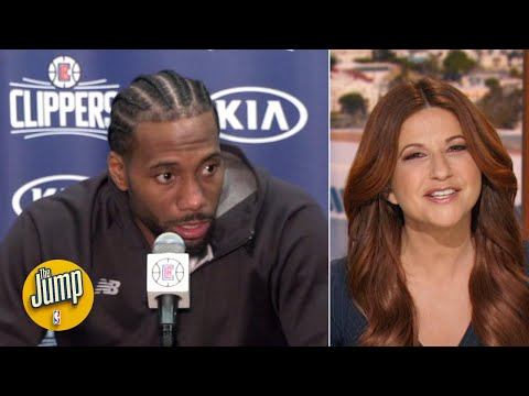 Kawhi's snarky answer to a reporter's question was phenomenal - Rachel Nichols   The Jump