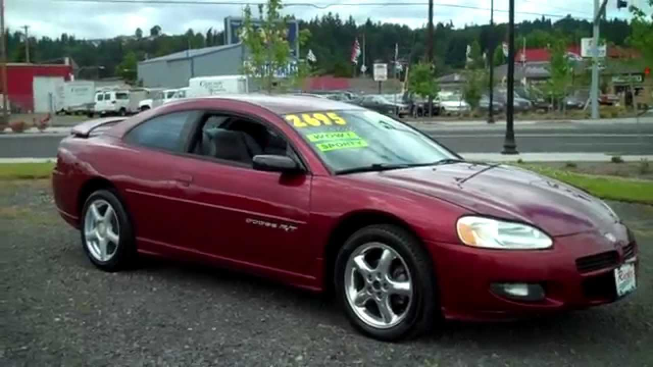 2001 Dodge Stratus Rt Sold Youtube