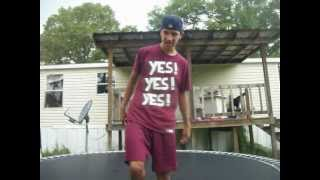 Trampoline Wrestling KBW- First Ever Last Man Standing Match Ak 47 vs ???