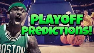 NBA Playoff Predictions 2017!
