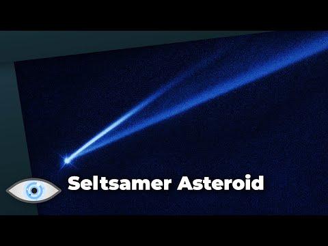 """Seltsamer Asteroid: """"Gault"""" hat zwei Schweife und wechselt seine Farbe!"""