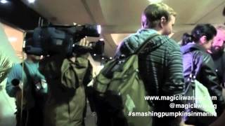 Smashing Pumpkins Manila Arrival