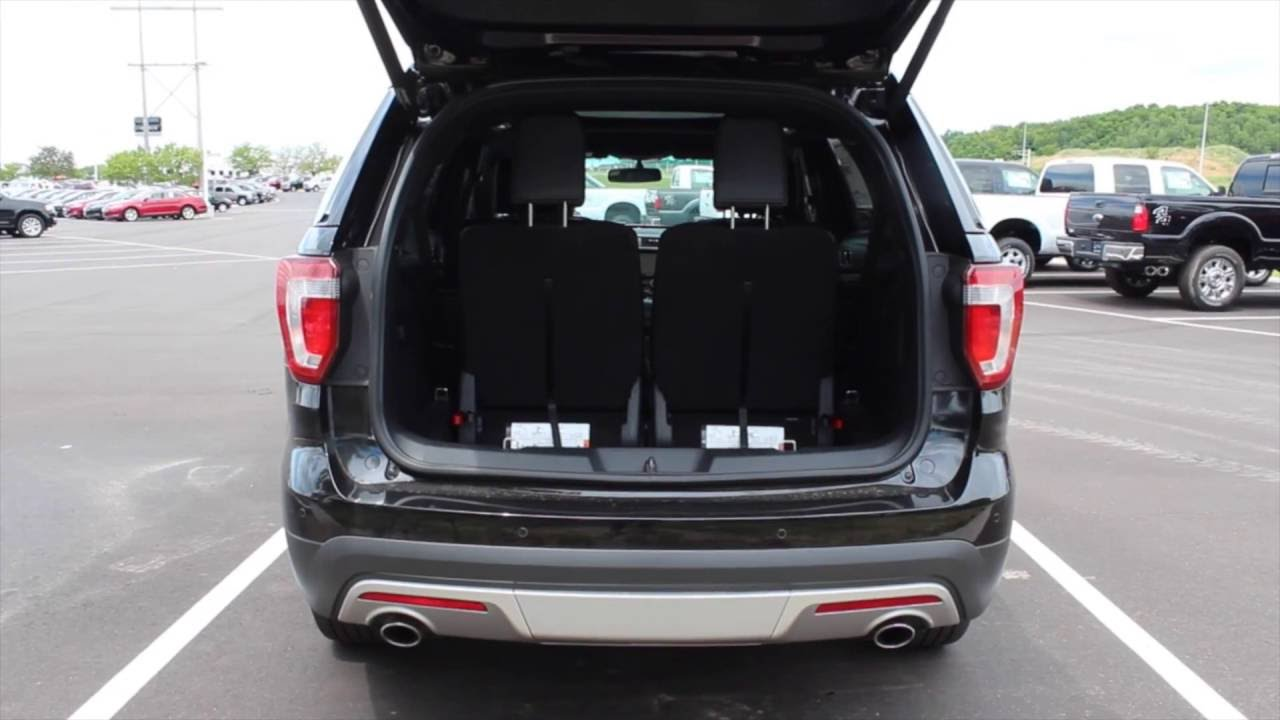 how to fold third row seats manually in a 2016 ford explorer at eau claire ford lincoln quick. Black Bedroom Furniture Sets. Home Design Ideas