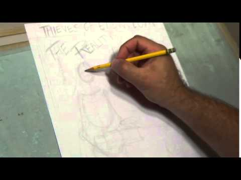 Comic Art Penciling Tips #2 part 1