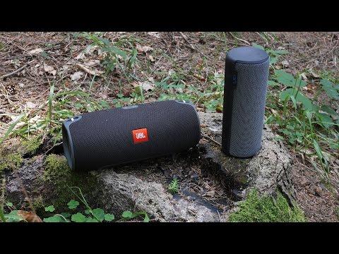 JBL Xtreme vs. UE Megaboom - outdoor soundcheck