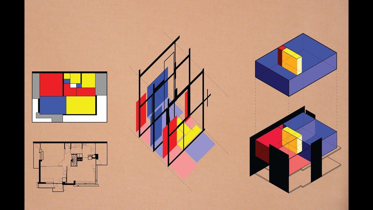 Analyzing Rietveld Schroder House Using Diagrams  YouTube