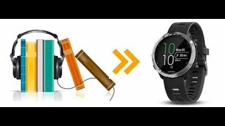 How to Listen to Audible Audiobooks on Garmin Watch/GPS