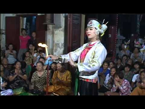 Hầu Bóng : Thanh Đồng Trần Vũ Tiến Hầu Giá Chúa Thác