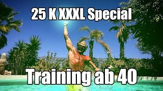 Training ab 40?! XXXL 25 K Abo Special (PITT-Myokalypse)