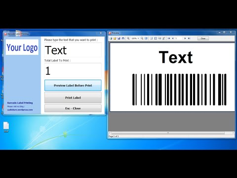 How to Make Bar Code Label Printing With DelphiXE Using Fastreport - Free Source Code