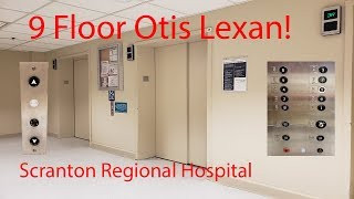 Awesome 9 floor Otis Lexan Scranton Regional Hospital Scranton Pennsylvania