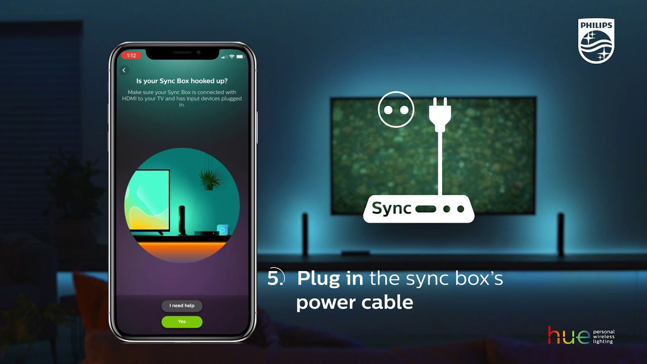 Philips Hue Play HDMI Sync Box Review Lichtfestijn in je