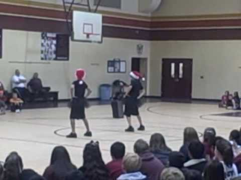 Kalani and Gabe, Calallen Middle School, Talent Show 2009