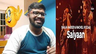 Coke Studio Season 12 | Saiyaan Reaction| Shuja Haider & Rachel Viccaji