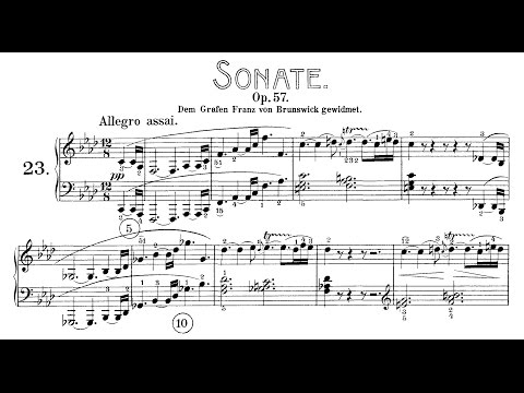 Beethoven: Sonata No.23 in F Minor,