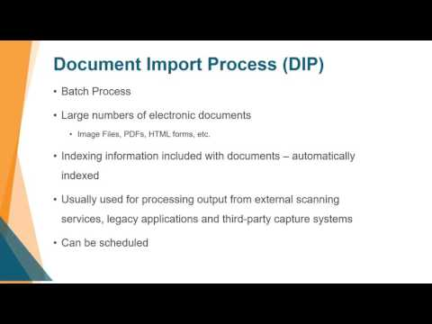 Support Webinar: Capture - Importing Documents into OnBase