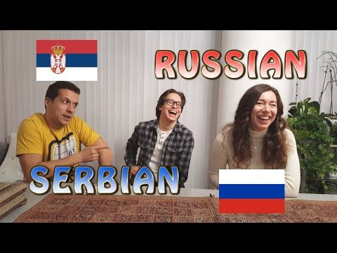 Similarities Between Serbian and Russian