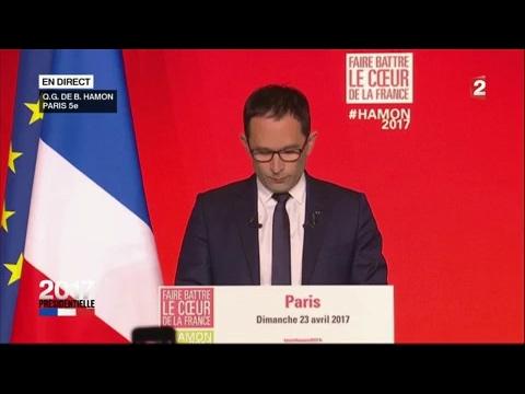 """Benoît Hamon : """"J'ai échoué à déjouer le désastre qui s'annonçait"""" (France 2)"""