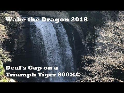 Wake The Dragon 2018 - Triumph Tiger 800XC Moto Adventure
