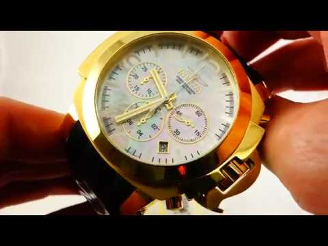 Invicta COALITION FORCES Gold Plated Wrist Watch Model 22278