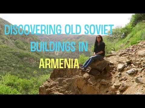 Discovering Old Soviet Buildings in Armenia (2018) - Travel with Arianne - Travel Europe episode #9