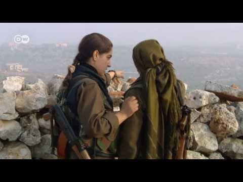 Syria: Kurdish women soldiers against jihadists | Global 3000