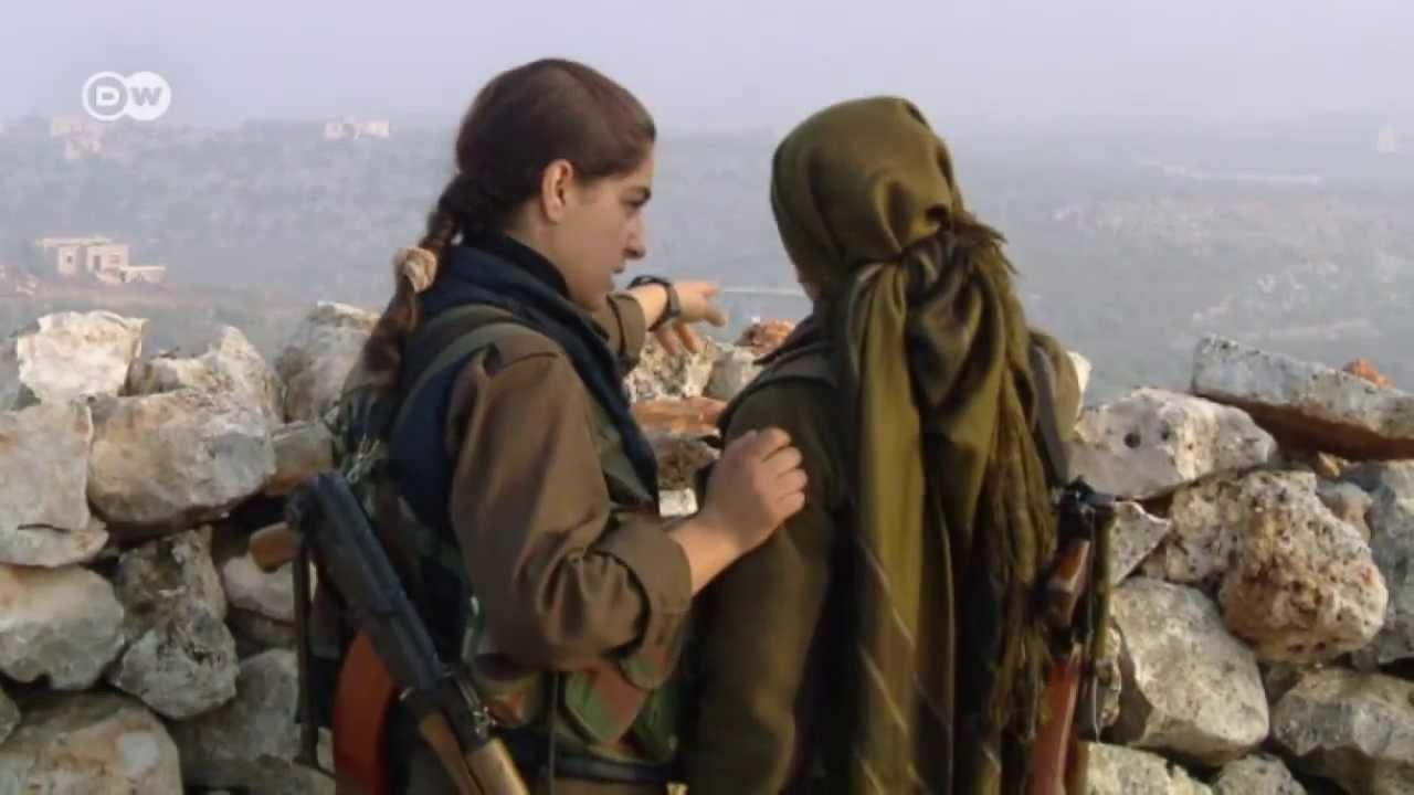 Download Syria: Kurdish women soldiers against jihadists | Global 3000