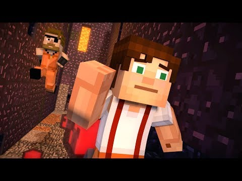 Minecraft: Story Mode - Jailhouse Block - Season 2 - Episode 3 (11)