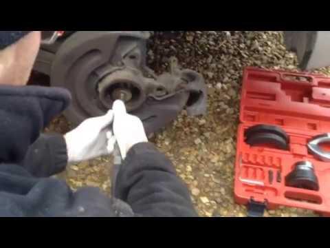 VW T5 bearing change. Gen2 bearings