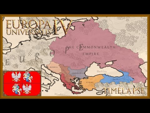 Europa Universalis 4 - The Polish Defenders of Christianity - Timelapse (Golden Century) |