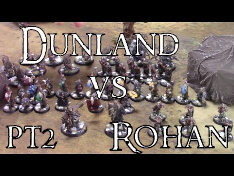 EPIC Dunland vs Rohan - Middle Earth SBG #pt2 mini campaign