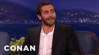 Jake Gyllenhaal's Horrible Halloween Costumes  - CONAN on TBS