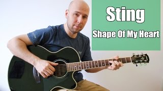 Shape Of My Heart - Sting Fingerstyle Guitar