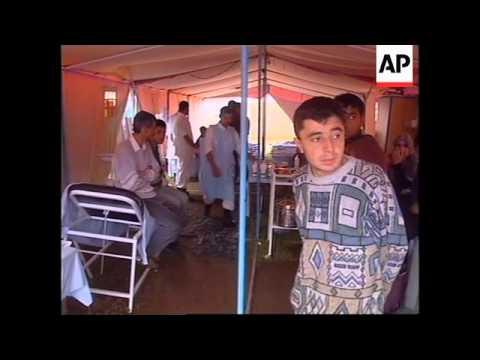 TURKEY: EARTHQUAKE DISASTER: FEAR OF DISEASE