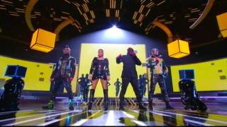 Black Eyed Peas - Dirty Bit - Time Of My Life - Live X Factor 2010 (HD)