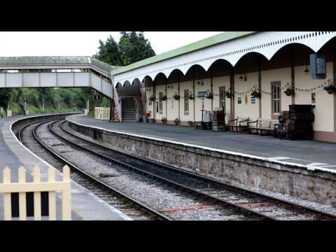 Paignton & Dartmouth Steam Railway Part 1 - July 2017