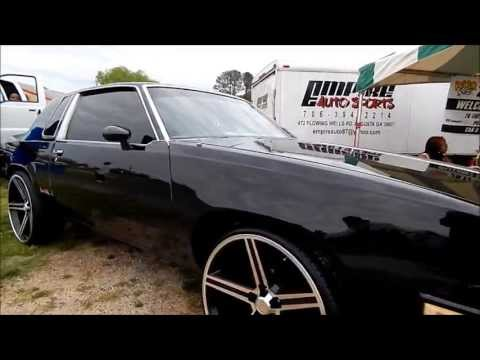 Blacked Out Oldsmobile Cutlass On 24 Irocs Youtube