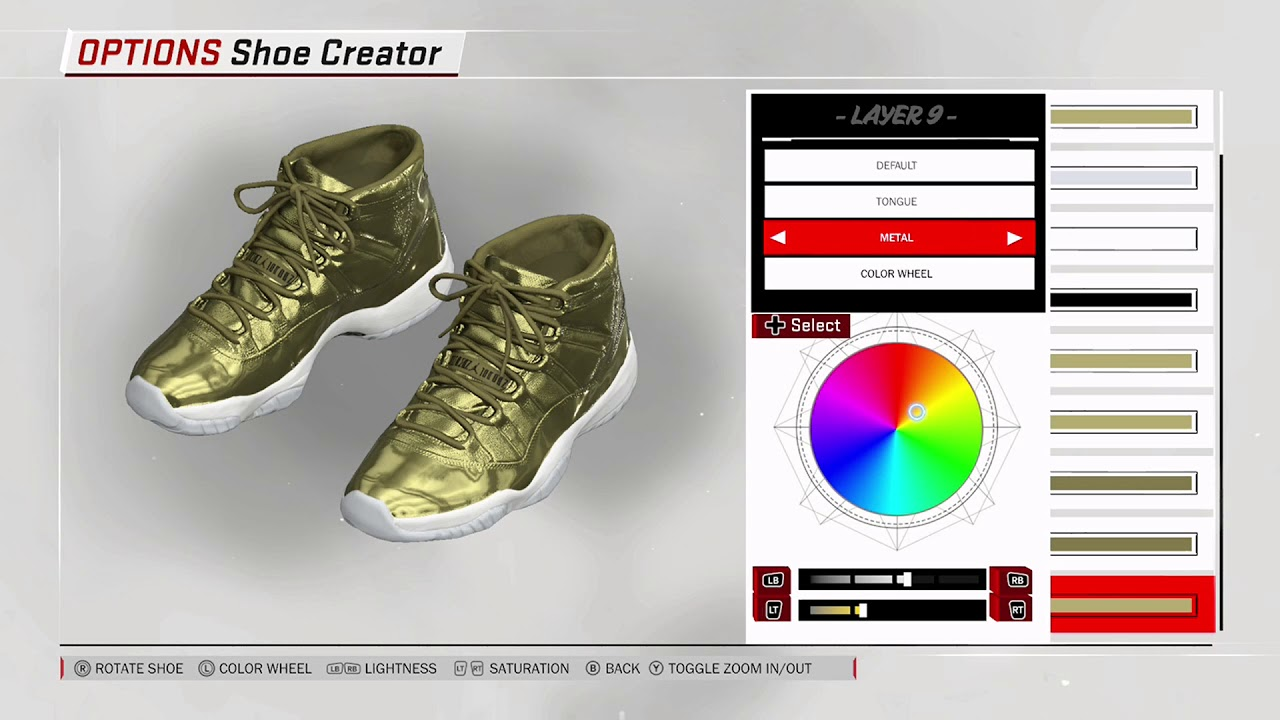 new styles 9e33f 8da57 NBA 2K18 Shoe Creator - Air Jordan 11