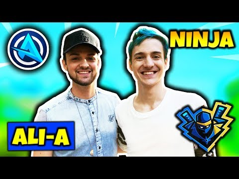 NINJA & ALI-A PLAY FORTNITE DUO TOGETHER FOR THE FIRST TIME | Fortnite Daily Funny Moments Ep.99