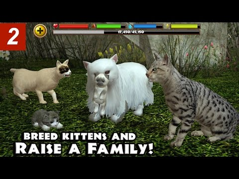 Stray Cat Simulator - Part 2- By Gluten Free Games -Compatible with iPhone, iPad, and iPod touch