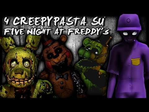 4 Creepypasta che forse non sai su FNAF Five Nights at Freddy's